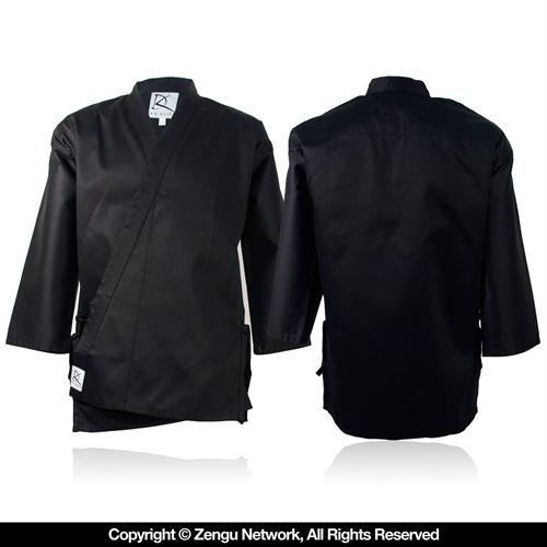 KD Elite Black Middleweight Karate Jacket